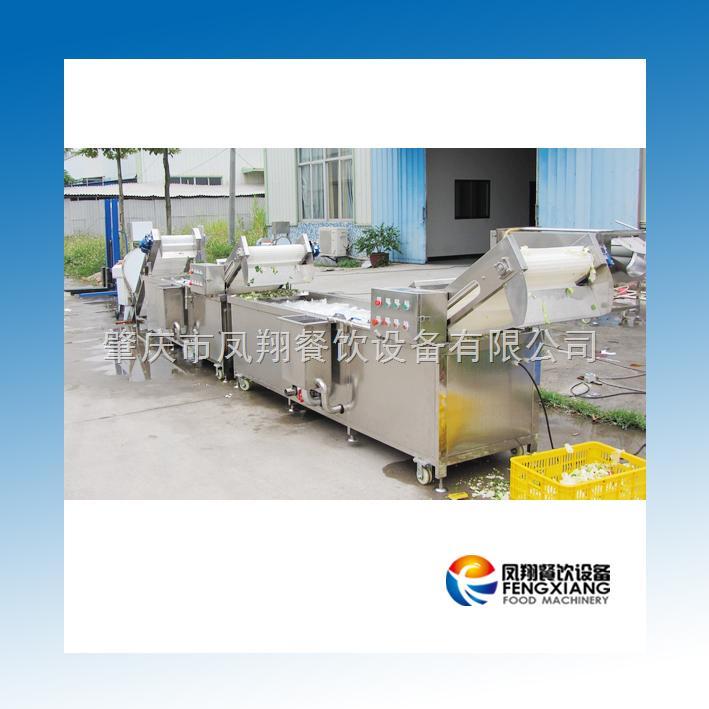 肇庆凤翔--净菜加工线 连续清洗切割生产系列