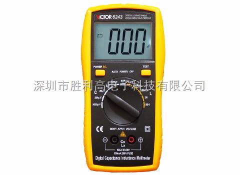 VICTOR 6243數字電感電容表VICTOR 6243