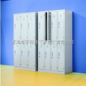 36门电子存包柜智能电子存包柜 超市电子存包柜 铁质电子存包柜