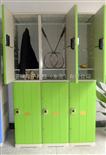 6门储物柜厂家直销塑胶储物柜,防水存包柜,羽毛球馆ABS柜