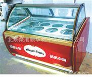 北京荣港顺华供应冰淇淋豪华玻璃冷冻展示柜 冰淇淋柜 厨房冰柜