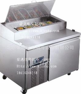 供应荣港顺华不锈钢冷藏比萨柜 冰柜展示柜 大型冷藏设备