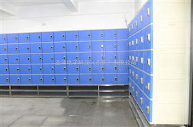 6门储物柜篮球馆智能电子储物柜 感应式电子储物柜 防水塑胶储物柜