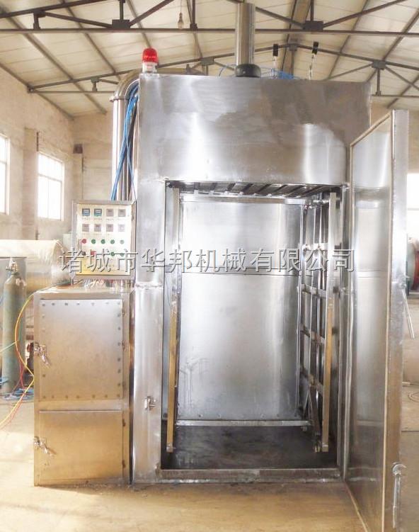山东华邦专业供应全自动烟熏炉  制作烤肠熏肉设备