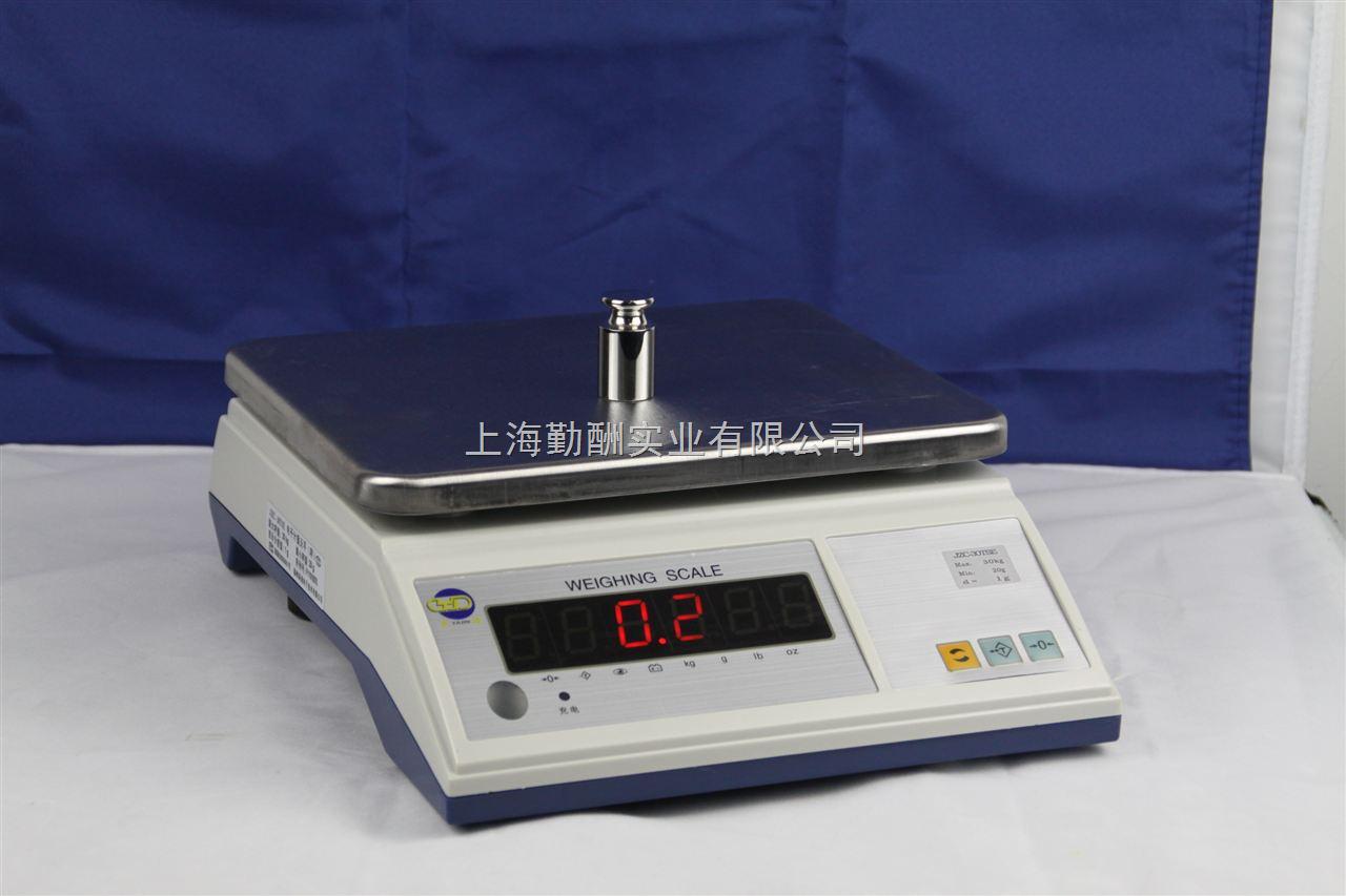 电子桌秤有LED数码显示或LCD带背光显示价廉物美K