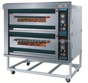 新南方豪华型双层四盘面包电烘箱