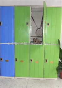 6门储物柜健身房防水更衣柜 健身房感应式更衣柜 健身房智能更衣柜