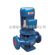IRG型管道式热水离心泵,立式离心管道热水泵