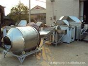 青豆 蚕豆 油炸机生产线