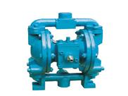 QBY气动隔膜浓浆泵/铸铁隔膜泵/QBY耐酸泵