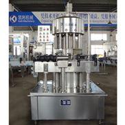 全自动回转式负压瓶装酱油灌装机 食用醋灌装机