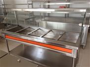 (厂家直销)商用保温售饭台、干净卫生、清洗方便