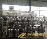 大型豆腐磨浆机,正通厂家*销售