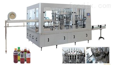 三合一饮料灌装生产线