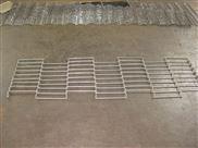 批发定制特殊规格乙字网带 单边巧克力网 R角输送带