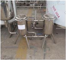 果汁饮料调配设备双联过滤器