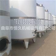 10吨立式储罐 搅拌发酵罐 山东酒罐不锈钢储罐生产 304白钢发酵罐