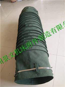 绿色帆布除尘伸缩软连接厂家