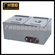 厂家批发家庭加工致富机械商用快餐节能高效2盆2格电热保温汤池