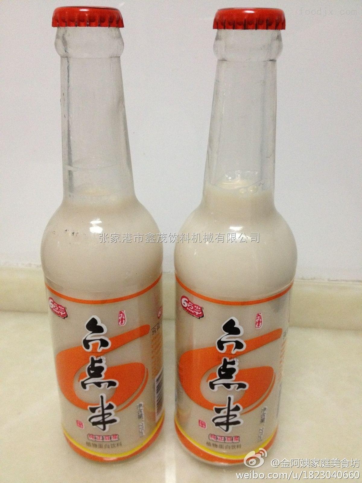 玻璃瓶乳品灌装机、植物蛋白玉米汁饮料灌装机、小瓶装豆奶机