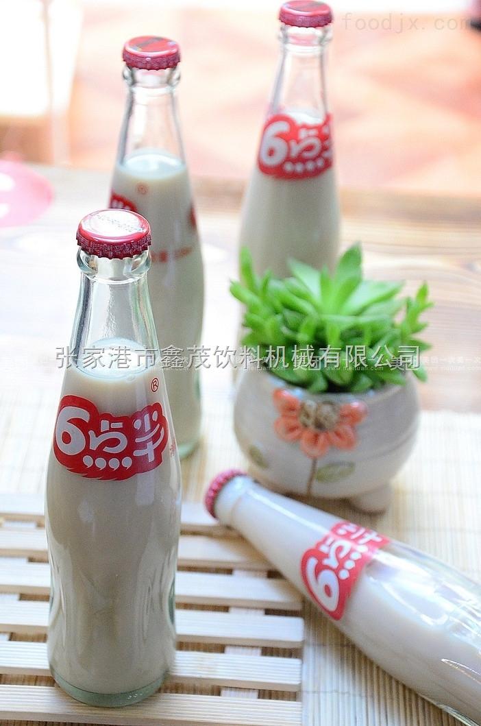 玻璃瓶装豆奶生产线
