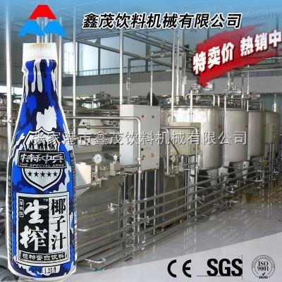 RCGF-24-24-8椰子汁灌装铝箔封口椰奶灌装铝箔封口机