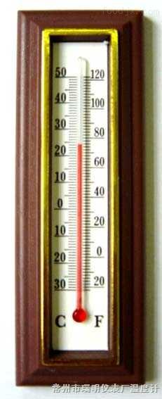 室内外温度计114