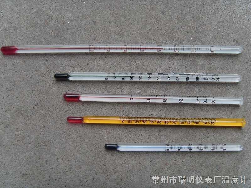 棒式温度计,玻璃棒式温度计,玻璃温度计,水银温度计,红水温度计,酒精温度计,工艺品温度计,出口温度计
