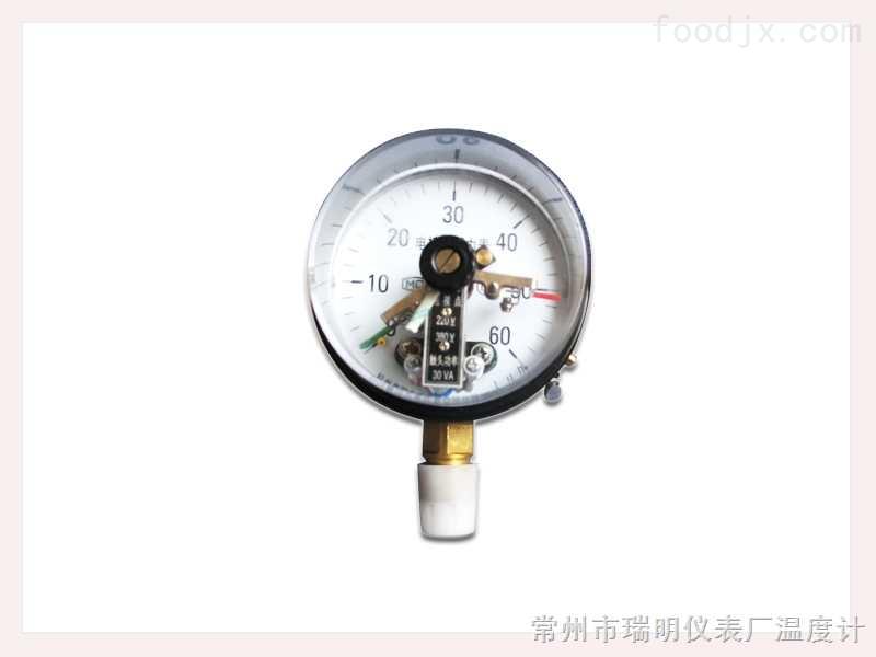 直接式电接点压力表