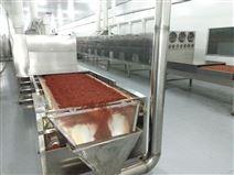 花椒粒烘干杀菌隧道炉厂家指的是微波设备