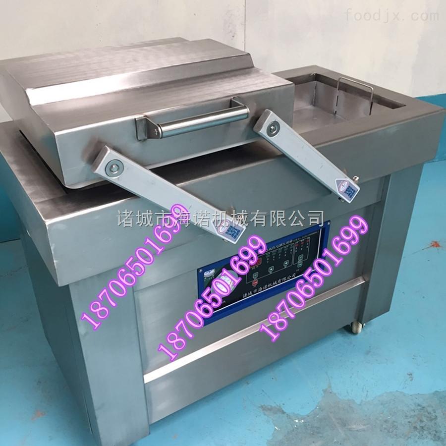 500/2s海诺机械现货供应酱腌山野菜瓶装包装机 下凹式真空包装机