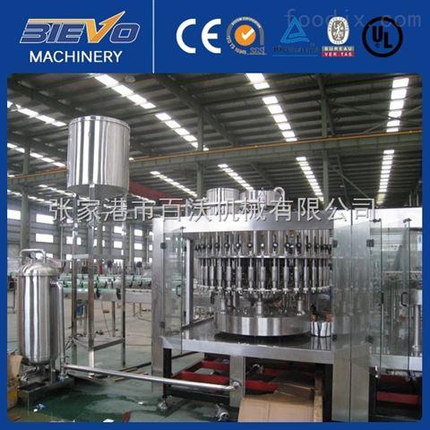 玻璃瓶果汁饮料灌装生产设备 全套生产线