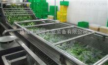 定制生产大型蔬菜气泡清洗机