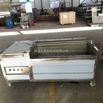 304不銹鋼土豆毛刷清洗機