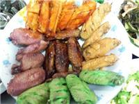 网友发明五彩鸡翅 这样的黑暗料理你敢吃吗?