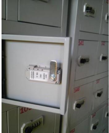 机械密码锁储物柜