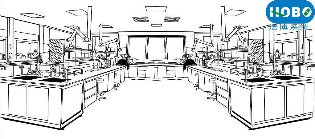 hobo 实验室平面布局图