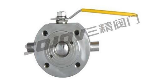 bq71f型意大利式超薄型保温球阀,对夹球阀图片