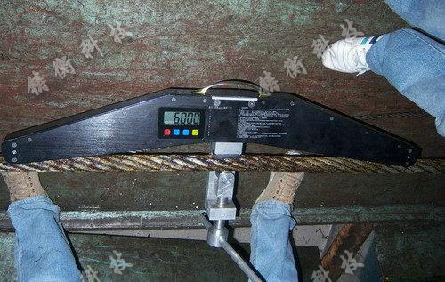 钢丝绳拉力检测仪图片