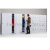 40门储物柜厂家直销超市铁质储物柜 百货铁质存包柜 商场铁质存储柜