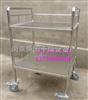 非标订做订做符合制药厂GMP标准304不锈钢加厚周转平板推车